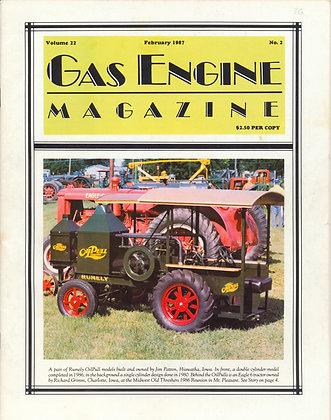 Gas Engine Mag.  February 1987