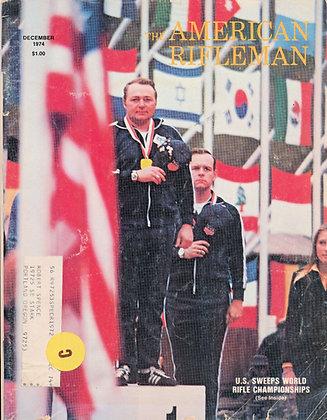American Rifleman December 1974