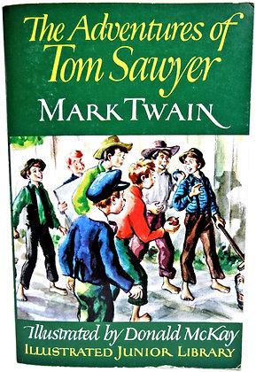 Adventures of Tom Sawyer by MARK TWAIN 1988