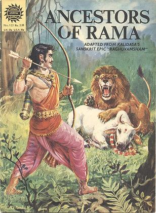 "ANCESTORS OF RAMA No. 122 Adapted from Kalidasa's Sanskrit Epic ""Raghuvamsham"""