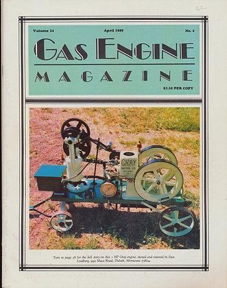 Gas Engine Mag.  April 1989