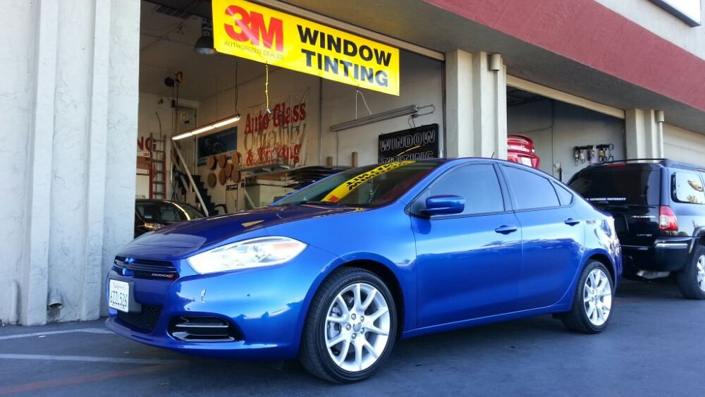 Dodge Dart with 3M color stable