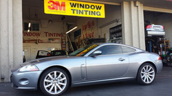 Exclusive 3m Color Stable film on a Jaguar XK