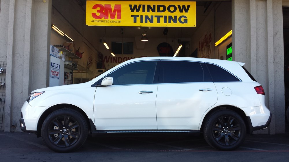 Acura MDX got the 3M treatment from Color Stable to Crystalline on the windshield