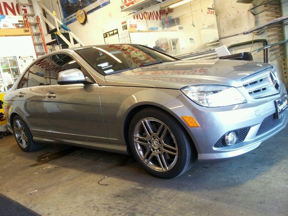 Mercedes C Class 20% tint