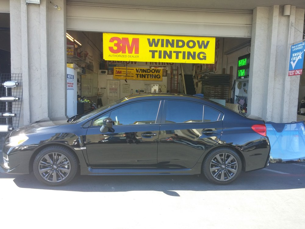 2015 Subaru WRX tinted with 3M FX Premium 25% full