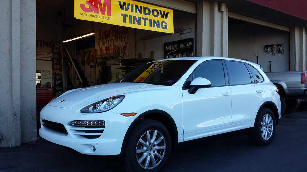 Porsche Cayenne in 3M color stable