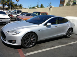 Tesla P85D in for full 3M Crystalline install