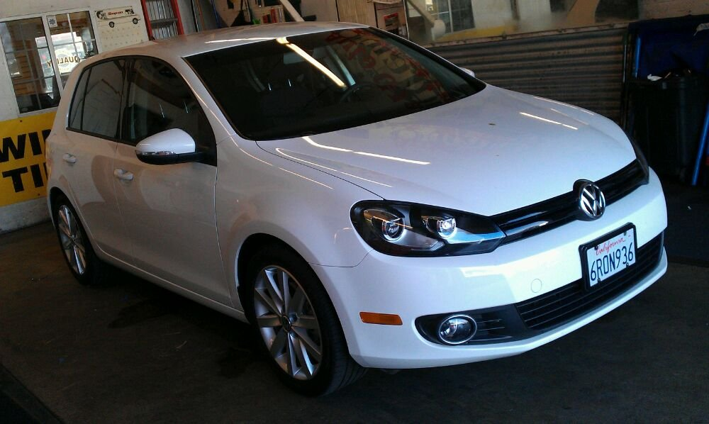 VW Golf TDI in 20%