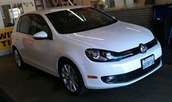VW Golf TDI in 20%