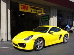 3M Color Stable on Porsche Cayman