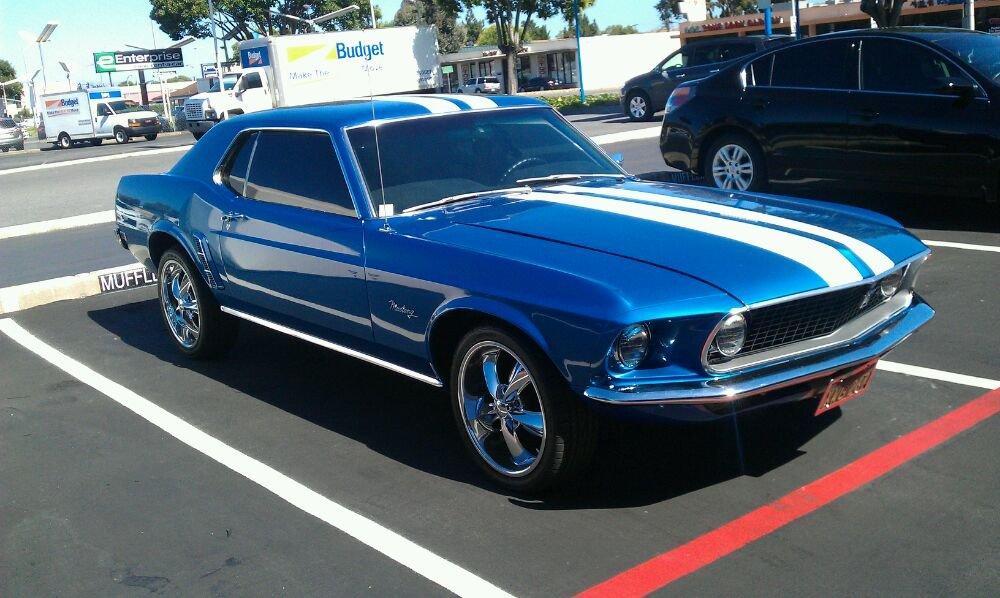 Custom 3M classic 69 Mustang