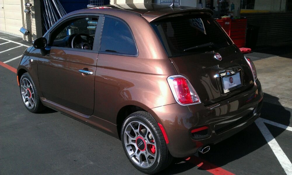 3M on Fiat 500 Sport 35%