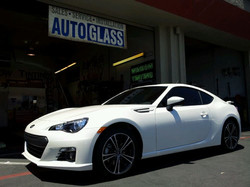 Subaru BRZ in 3M clothing