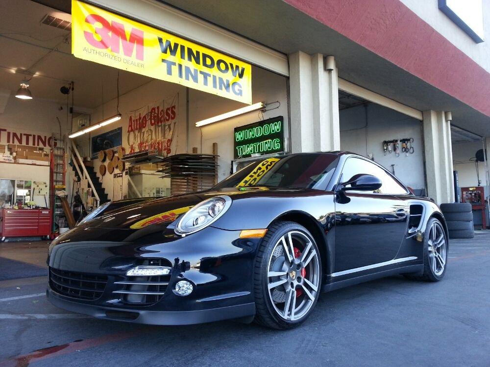 Porsche Turbo full Crystalline and windshield