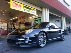 Porsche Turbo full Crystalline and windshield