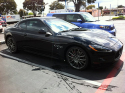 Grandturismo Edition Maserati dressed in 50% 3M tint