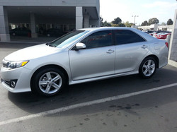 2013 Camry. 35% front. 20% back