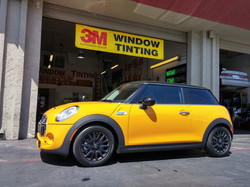2014 S model mini 3m window tint