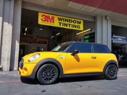 2014 S model mini 3m window tint