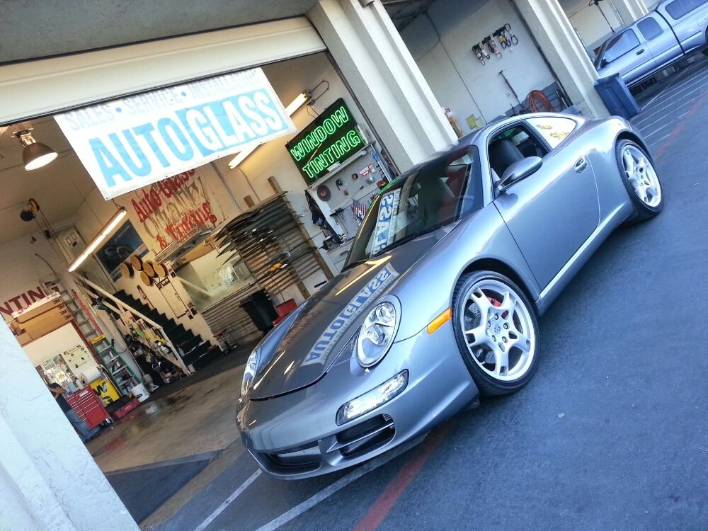 3M clearbra on Porsche Carrera