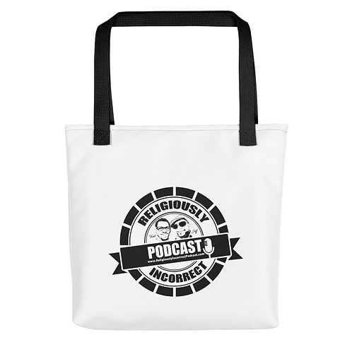 Religiously Incorrect Podcast Branded Tote bag