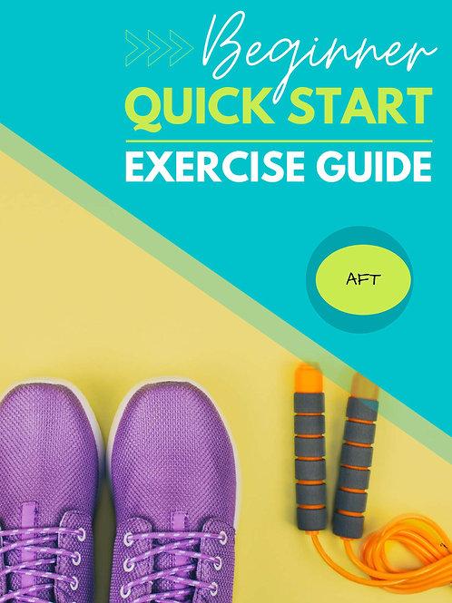 BEGINNER QUICK START EXERCISE GUIDE