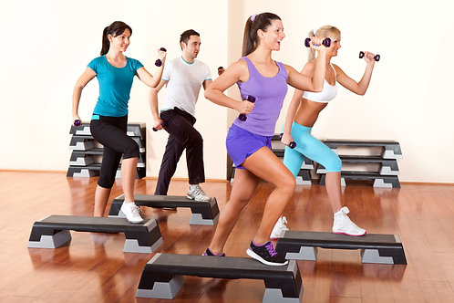 STEP INTERVAL AND TOTAL BODY SCULPT 30 DAY CALENDAR