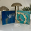 Thumbnail: Flower Agate Crescent Moon Crystal Painting - Mini Series