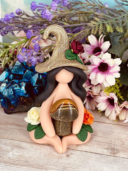 EVANORA - Jasper Mushroom Witch