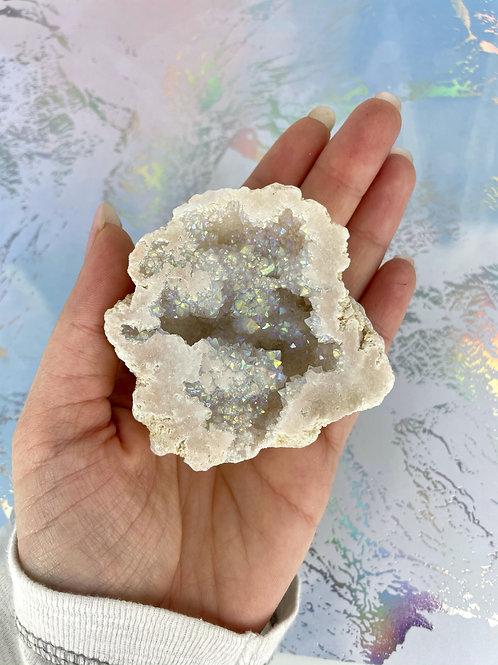 Aura Cleanser Angel Quartz Geode Free Form