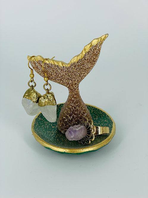 Mini Pyrite Mermaid Trinket Dish