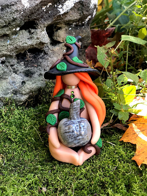 Fossil Coral Pumpkin Forest Witch
