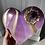 Thumbnail: Amethyst Crystal Heart Plaque