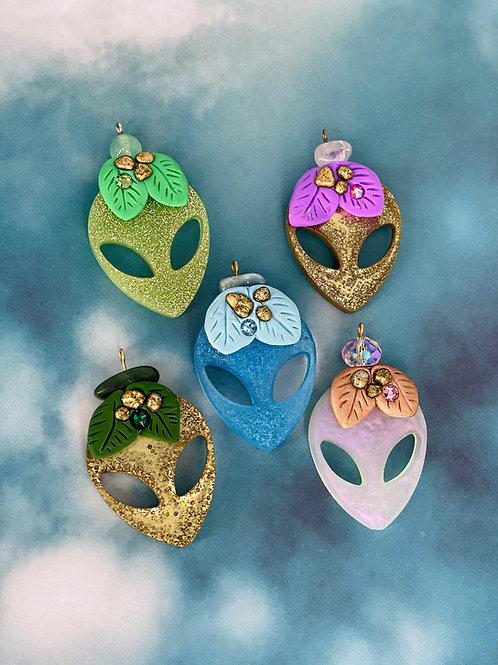 Earth Alien Pendant Collection