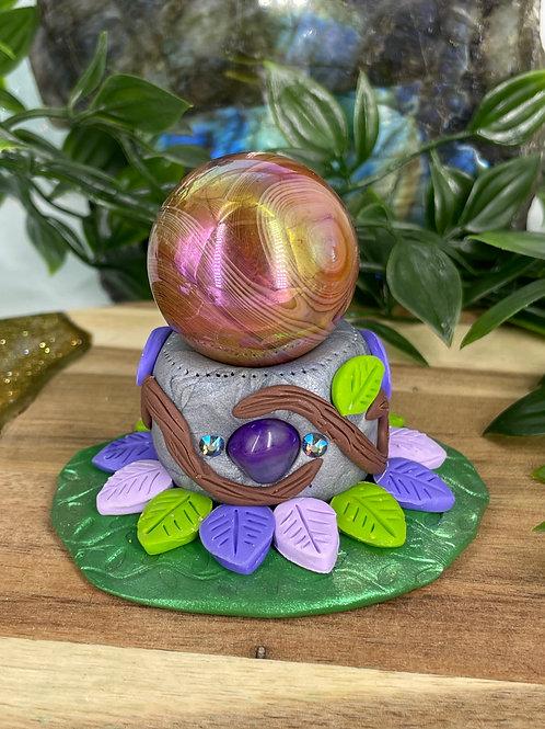 Magic Forest Crystal Sphere Holder