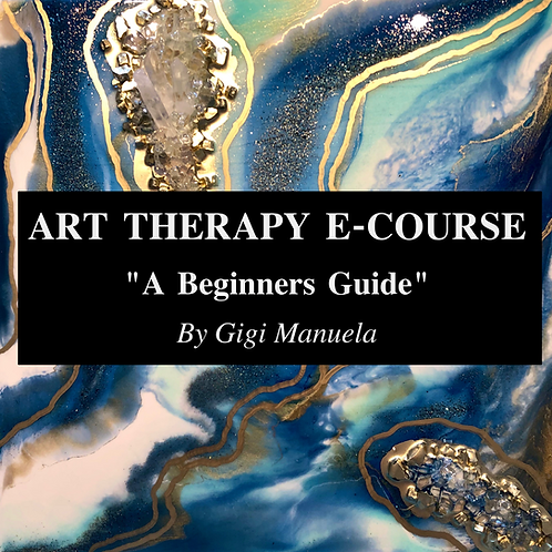 Art Therapy E-Course. Beginners Guide