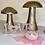 Thumbnail: Rose Quartz Glittering Love Sign