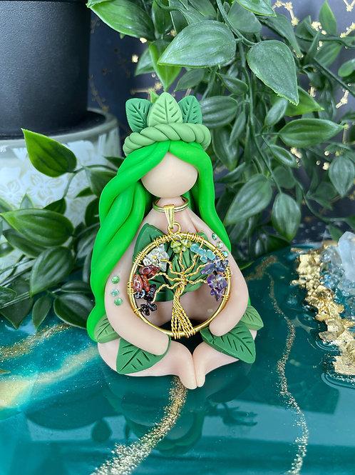 7 Chakra Tree Goddess.