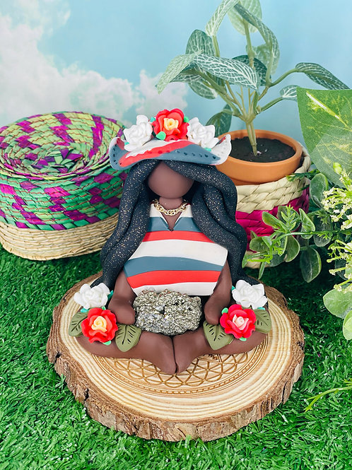 Cinco de Mayo Mexican Pyrite Goddess