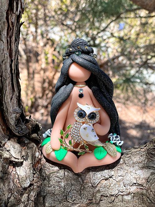 Wise Owl Goddess of Wisdom