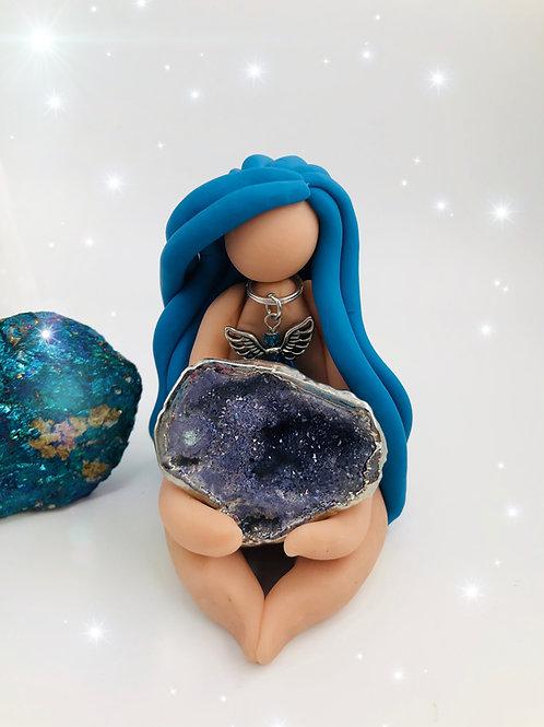 Agate Azure Goddess