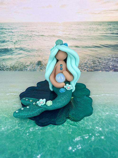 Opal Enchanted Crystal Mermaid