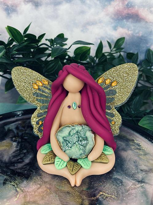 Druzy Quartz Spiritual Healing Fairy