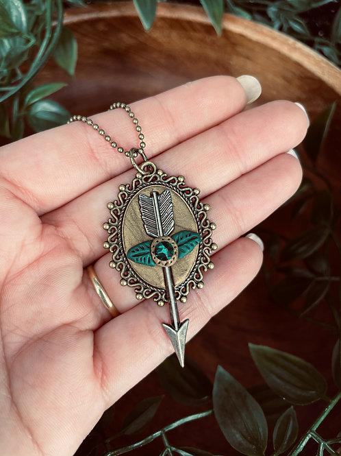 Sagittarius Arrow Pendant.