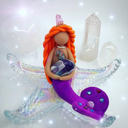 Amethyst Crystal Mermaid
