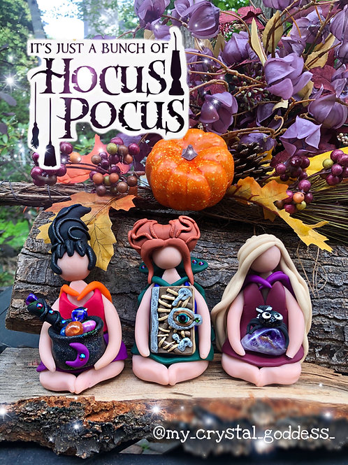 Special Addition Sanderson Sisters - Hocus Pocus Crystal Witches