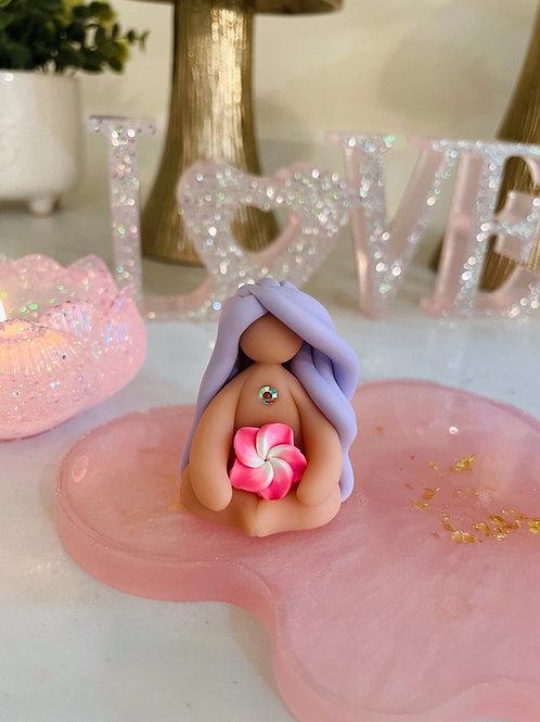 Lilac Hawaiian Mini Goddess