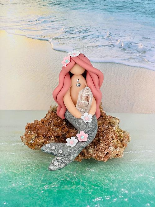 Quartz Enchanted Crystal Mermaid