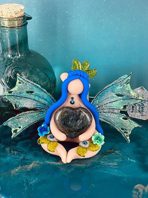 Labradorescence Crystal Forest Fairy Elf